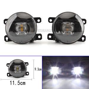 Smoked LED Front Fog Light Lamps For Nissan Pathfinder R51 Patrol Y61 Navara D40