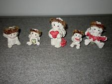 Dreamsicles-Figures-1994 Heartstrings-On Bended Knee-3 More-Cast Art- Lot A1