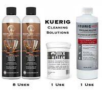 Keurig Descaling Solution 14oz Cleaning Coffee Maker Water tank Resevoir Cleaner