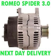 ALFA ROMEO SPIDER 3.0 V6 24V 1999 2000 2001 2002 2003 REMANUFACTURED ALTERNATOR