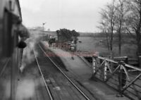 PHOTO  RINGSTEAD RAILWAY STATION VIEW FROM THE TRAIN OF THE STATION IN 1964 1