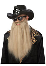 Brand New ZZ Top Sharp Dressed Man Costume Beard Accessory
