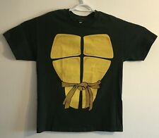 TMNT Teenage Mutant Ninja Turtles 2009 Shell Retro T Shirt Costume Halloween L
