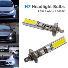 2X H1 Xenon White 6000K 7.5W COB LED SMD DRL Driving Fog Beam Head Lights Bulbs