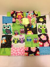 OWL QUILT Double Bed For Monster High, Barbie, And Bratz Dolls