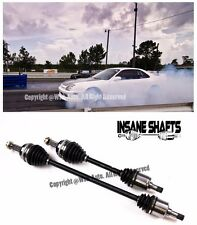 Insane Shafts Axles For 97-01 Honda Prelude 2.2L Base Model H22A4 BB6 500HP