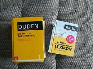 Duden Die deutsche Rechtschreibung 26. Auflage/ Das kleine Kreuzworträtsel-Lex.