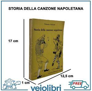 STORIA DELLA CANZONE NAPOLETANA libro di Paliotti prima edizione Ricordi Crepax