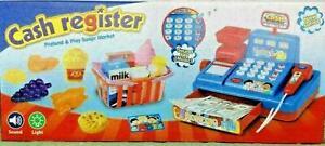 Spiel Kasse Für Kinder Registrierkasse Kinderkasse Spielgeld mit Ton und Licht