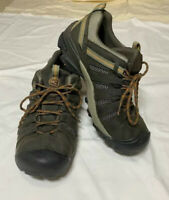 KEEN Mens Targhee II Hiking Shoes Brown 1002570 Lace Up Low Top Waterproof 12
