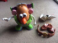 Toy Story Mr Potato Head Spud Sheriff Woody Buzz Lightyear Potato head Figures