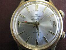 VINTAGE WAKMANN ALARM WATCH  17 Jewels Incabloc  Swiss