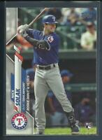 Nick Solak RC 2020 Topps Update Series Rookie Debut Card # U-149 Texas Rangers