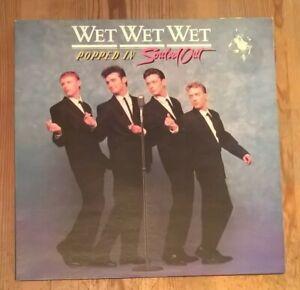 Wet Wet Wet – Popped In Souled Out Vinyl LP Album 33rpm 1987 Phonogram JWWWL1