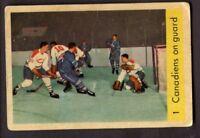 1959-60 Parkhurst # 1 Canadiens on Guard