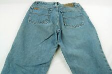 "Jordache Women's 11/12 (28W,30L,12""Rise) Relaxed Tapered Denim Jeans #W715"