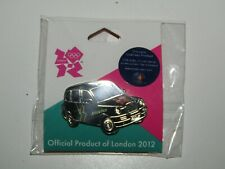 London 2012 Olympic Games Pin Badge Black Taxi Cab - sealed packet