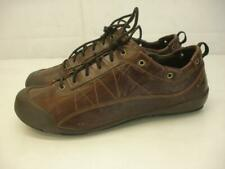 ALLROUNDER by MEPHISTO Women's 9 M Omira Brown Leather Shoes Oxford Lace-Up Flat