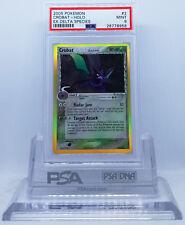 Pokemon EX DELTA SPECIES CROBAT #2/113 HOLO FOIL CARD PSA 9 MINT #*