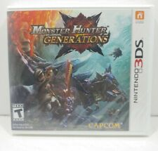 MONSTER HUNTER GENERATIONS, Nintendo 3DS, Brand New & Sealed!
