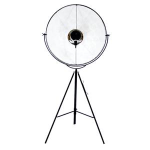 fortuny floor lamp Art Deco retro stage light lamp vintage designer Black white