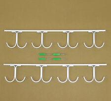 8-Rod Fishing Rod Rack Aluminum Ceiling Rack Garage Ceiling Mount Rods Rack