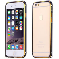Luxury aluminum metal slim bumper hard back cover case for IPhone 6 5.5 and 4.7