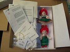 Mini Jingles & Belle 1997 from the Marie Osmond Christmas Collection Mint Nrfb