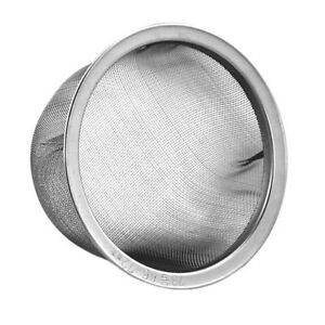 Teapot Replacement Stainless Steel Mesh Tea Strainer Infuser 66-72mm JAPAN MADE