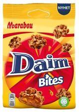 6-Pack Marabou Daim Bites - Swedish - Milk Chocolate - Candy Bag 145g