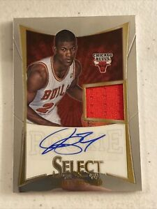 JIMMY BUTLER 2012 PANINI SELECT ROOKIE JERSEY AUTO CARD #/399