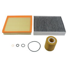 A set of cabin air and oil filter kit for BMW F21 F30 F31 F35 320i 13718507320