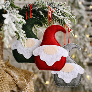 Christmas Decoration Sitting Posture Forest Man Faceless Doll  Christma Tree^qi