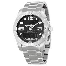 Breitling Aerospace Evo Black Dial Titanium Mens Watch E7936310-BC27TI