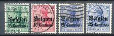 Duitse bezetting van België  2 - 4 gebruikt inclusief 4 I en 4 II (1)