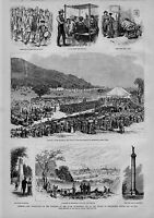 FOUNDING OF THE STATE GOVERNMENT AND BATTLE OF BENNINGTON VERMONT CELEBRATION