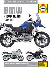 2004-2009 BMW R 1200 R1200 GS ST RT S R HAYNES REPAIR MANUAL