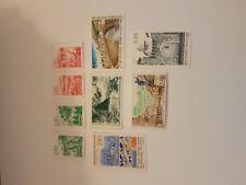 timbres France 2949 2950 2951 2952 2953 à 2957 année 1995 cote 12,25€ VF 4,20€