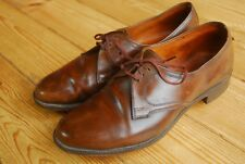 Vintage Lotus Veldtschoen Brown Leather Gibson Shoes UK 7 C