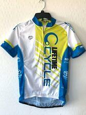 Pearl Izumi Women's Elite Cycling Jersey Full Zip Size XL Lifetime Cycle Toyota