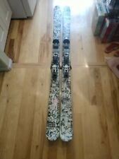 Line Invader 171 cm Twin Tip Skis Marker Adjustable Bindings