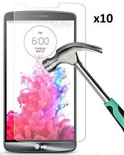 10x Premium Real Tempered Glass Screen Protector Protective Film Guard for Lg G3