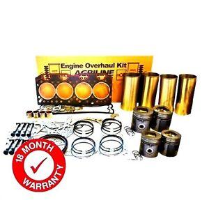 ENGINE OVERHAUL KIT FOR JCB 506-36 525-58 525-67 530-110 530-120 530-95 LOADALL
