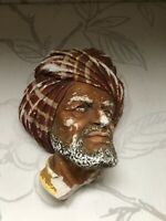 Vintage Bossons Head/wall Hanging Chalkware/collectable(repairs)