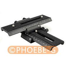 4 VIE messa a fuoco macro Shot Focus Rail Slider Per Canon Nikon Sony Fotocamera reflex digitale