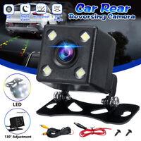 Car LED Reversing Rear View Camera Parking Cam 170° Night Vision Waterproof  .-