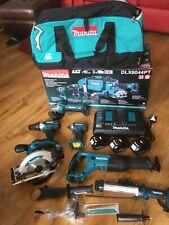 Makita DLX6044PT 18V LXT 6 Piece Combo Kit 3 x 5.0Ah Batteries Charger & Bag