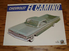 1959 Chevrolet El Camino Sales Brochure 59 Chevy