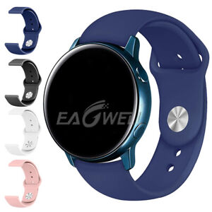 Universal 18mm Quick Fit Sports Silicone Wrist Watch Band Replacement Loop Strap