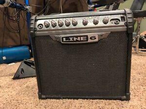 parts or repair - Line 6 Spider III 15 Watt Guitar Amplifier Powers on no sound